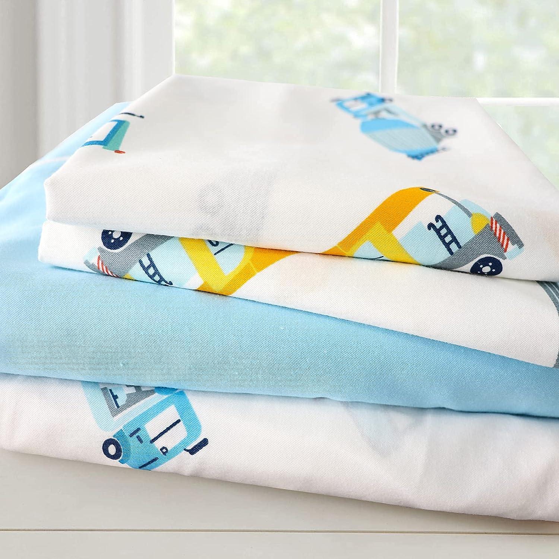 Virginia Beach Mall Brandream Queen Size Sheets Set Same day shipping Constructio Boy Cotton Kids Girl