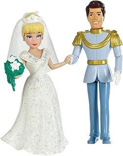 Disney Princess Fairytale Wedding Cinderella and Prince Charming Doll Set