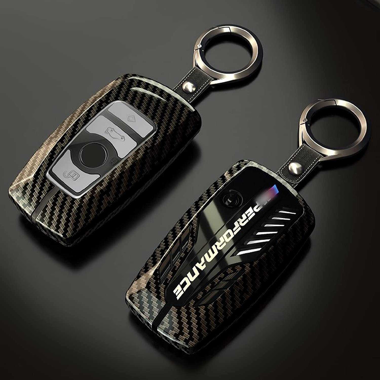 Time sale AvryLuky Alloy Car Key Case Max 58% OFF Rings Cover Holder 7 5 S for BMW 1 3
