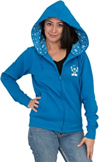 M&M's Zip up Ladies Fleece Hoodie Sweatshirt