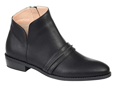 Journee Collection Harlow Bootie (Black) Women