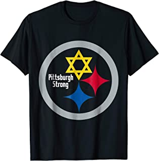 Pittsburgh Strong Stars T-Shirt Stronger than Hate