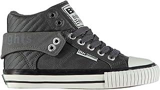 British Knights Roco PU Lace Hi Tops Boys Shoes Footwear
