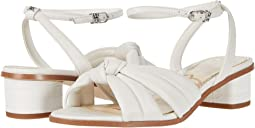 Bright White Butter Nappa Leather
