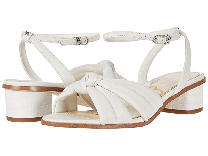 Sam Edelman  Ingrid (Bright White Butter Nappa Leather) Womens Shoes