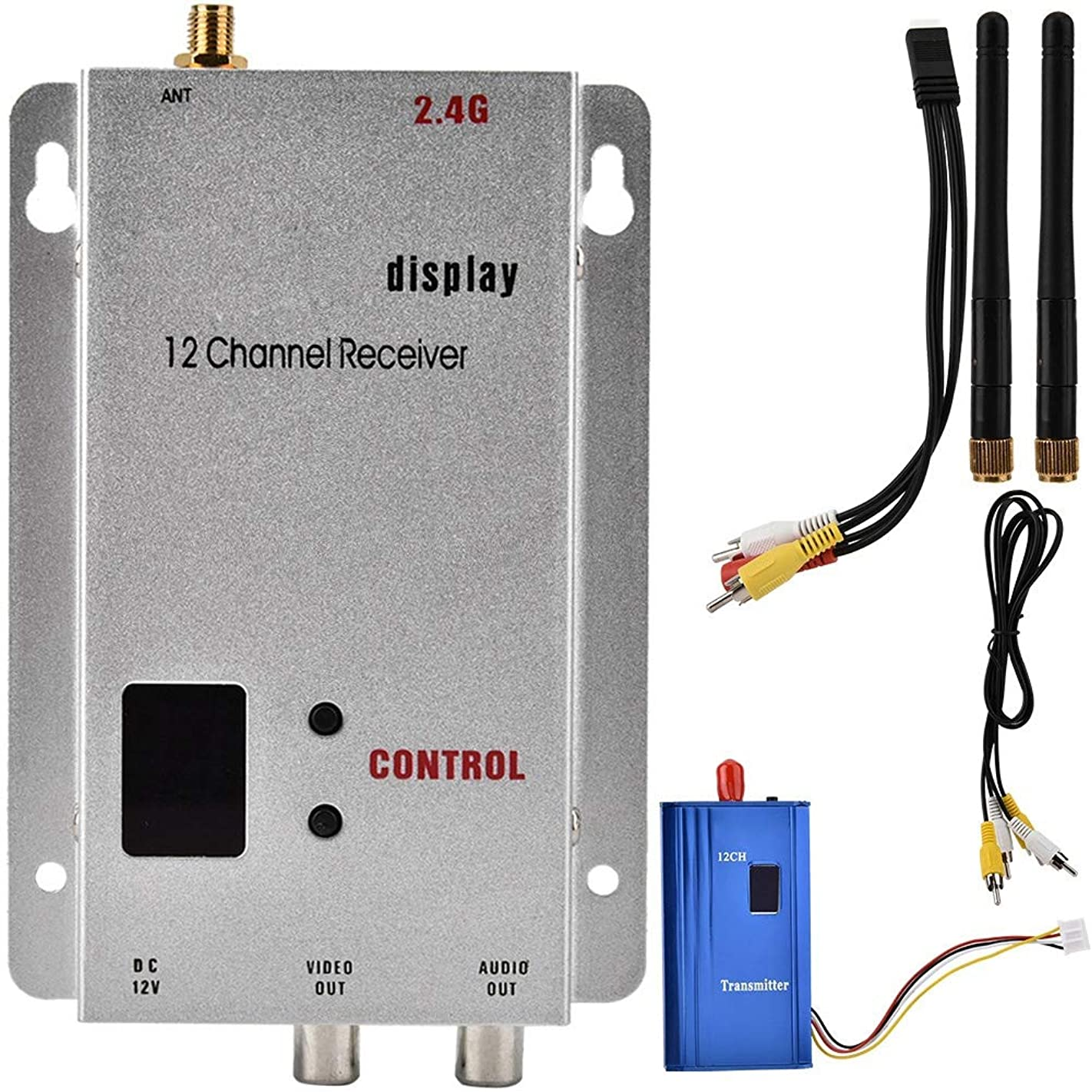 Wireless Audio Video Transmitter Receiver 2.4G 1000MW CCTV Transmitter Receiver l69777468633