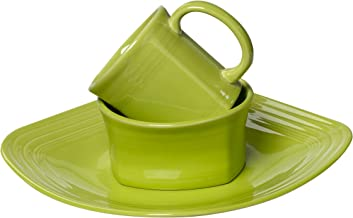 product image for Fiesta 3-Piece Square Place Setting, Lemongrass