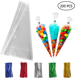 Best cone shaped treat favor bags Reviews