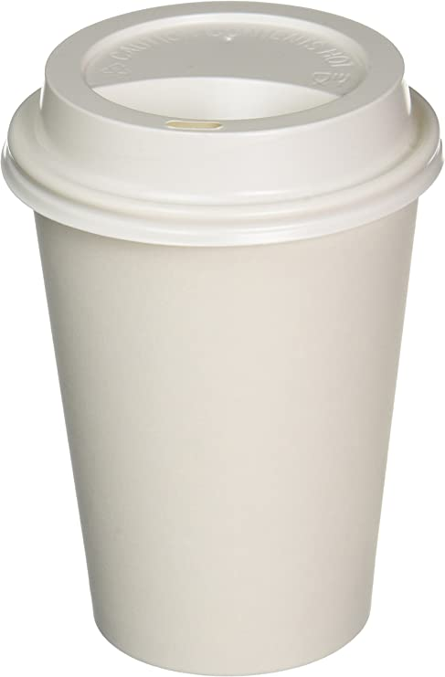 pc16-1 100 Paper Cup Hard Paper Cup Coffee to Go 400 ML 16 OZ GOLD