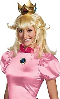 Disguise Women's Nintendo Super Mario Bros.Princess Peach Adult Costume Wig