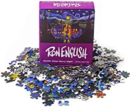 Ron English 'Double Vision Starry Night' Jigsaw Puzzle