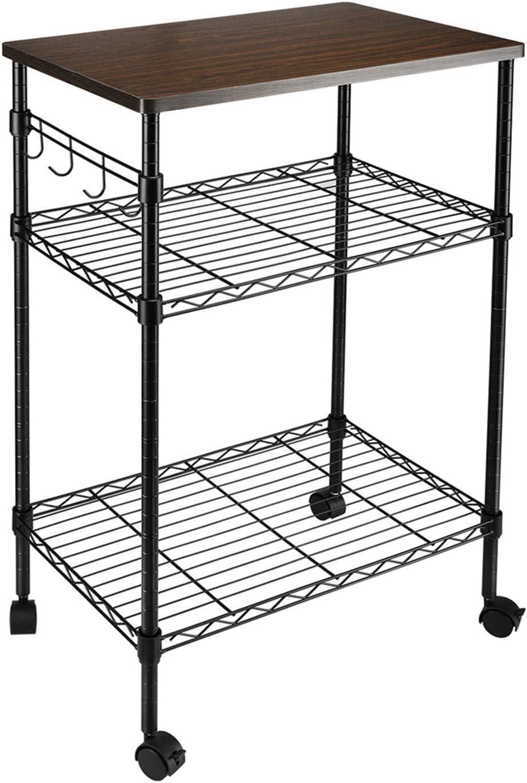 Max Topics on TV 54% OFF OTU 3-Tier Kitchen Utility Cart for attics Kitchens Storage Offi