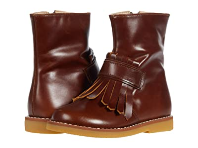 Elephantito Bootie w/ Fringes (Toddler/Little Kid/Big Kid) (Brown) Girls Shoes