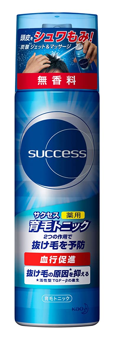 ゾーン強いバストサクセス薬用育毛トニック 無香料/180g