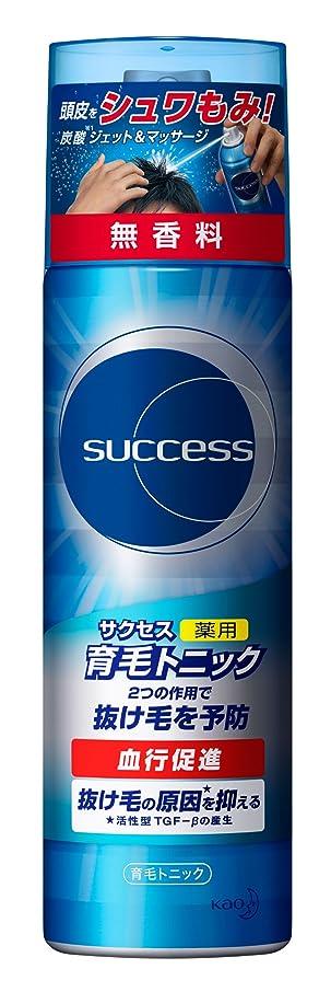 非難アルバムブレースサクセス薬用育毛トニック 無香料/180g