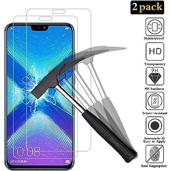 ANEWSIR [2-Pack Protector de Pantalla para Huawei Honor 8X ...