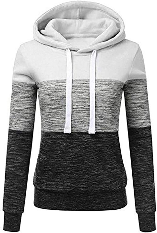 Hoodies for Women Casual Zip-Up Hoodie Long Sleeve Trendy Fall Zebra Striped Pullover Sweatshirt Jacket with Pockets
