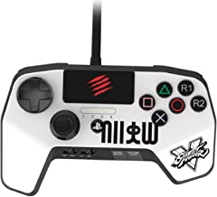 Best New Improved D-Pad - Mad Catz Street Fighter V FightPad PRO for PlayStation4 and PlayStation3 - White - PlayStation 4 Review