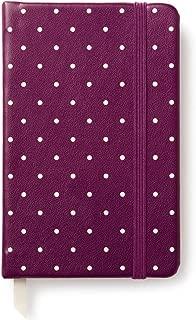 Kate Spade Take Note Medium Notebook, Plum Larabee Dot, Flamingo Dot (174158)