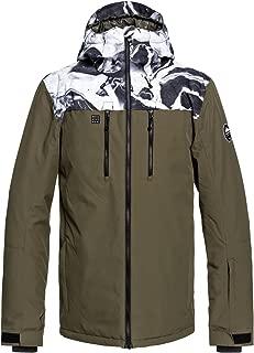 QUIKSILVER Men's Mission Block 10K Snow Jacket