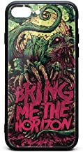 2015 Bring me The Horizon New Album iPhone Protective Cases Protective Cover for Apple iPhone 8 Plus Case Reinforced Corner TPU Bumper Cushion Scratch Resistant Hybrid Rigid Clear Back