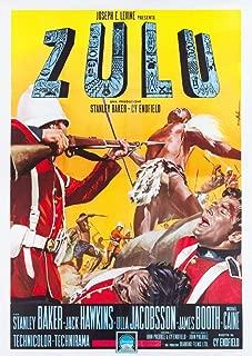 Posterazzi Zulu Italian Art 1964. Movie Masterprint Poster Print, (11 x 17)