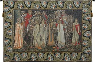 Charlotte Home Furnishings Inc. The Holy Grail,European Tapestry, Large: 52.00