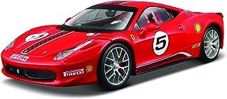 Ferrari Bburago B18-26302 1:24 458 Challenge, Red