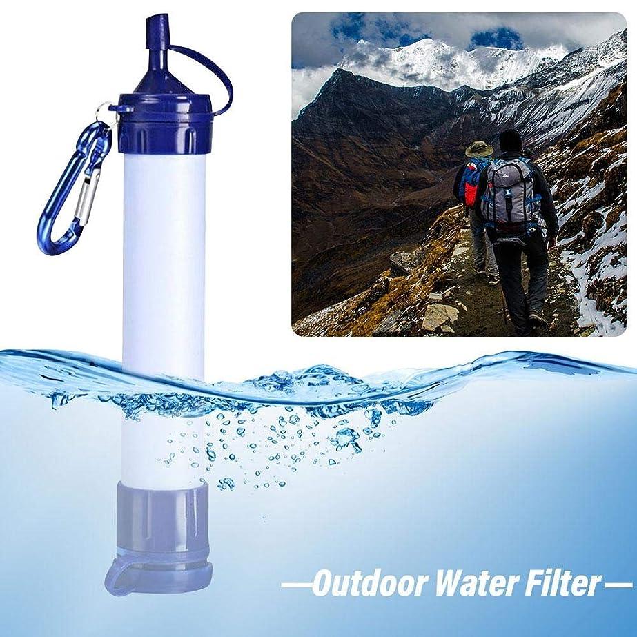 無謙虚均等にポータブル浄水器、浄水ストロー、フィルター、屋外飲料水、環境に優しい浄水器、屋外キャンプ用具