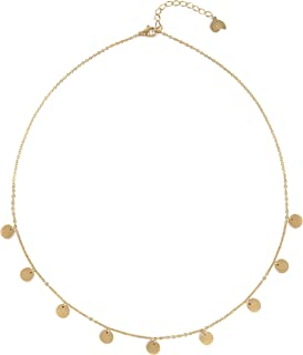 Best gold multi circle necklace Reviews