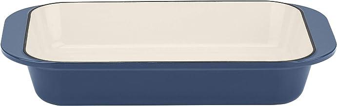 "Cuisinart Cast Iron Roasting/Lasagna Pan, 14"", Enameled Provencial Blue"