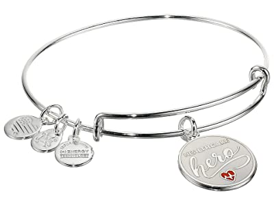 Alex and Ani Color Infusion Healthcare Hero (Shiny Silver) Bracelet