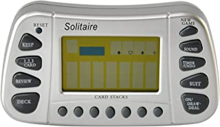 HOME-X Electronic Solitaire Master, Games for Road Trips, Gaming Activities for Boredom