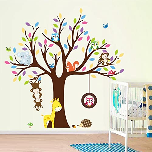 Tree Wall Stickers For Nursery Amazon Co Uk
