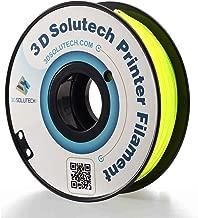 3D Solutech See Through Yellow 1.75mm Flexible 3D Printer Filament 2.2 LBS (1.0KG)