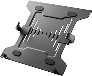 Mount Plus MP-NBH-2 Laptop Mount Tray for Monitor Arms and Stands (Tray Only) | Notebook Arm Mount Tray Fits 75 x 75 and 1...