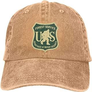 Sasquatch Research Unit Adult Vintage Washed Denim Adjustable Baseball Cap