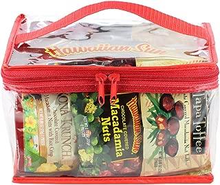 Hawaiian Sun Variety Bag with Chocolate Macadamia Nuts, Tapa Toffee, and Kona Krunch