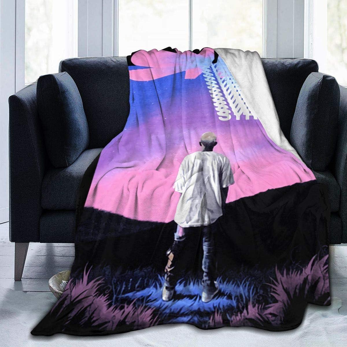 LMHBLTOP 送料無料/新品 Syre Jaden Smith Fleece Ultra-Soft Thro Flannel 男女兼用 Blanket