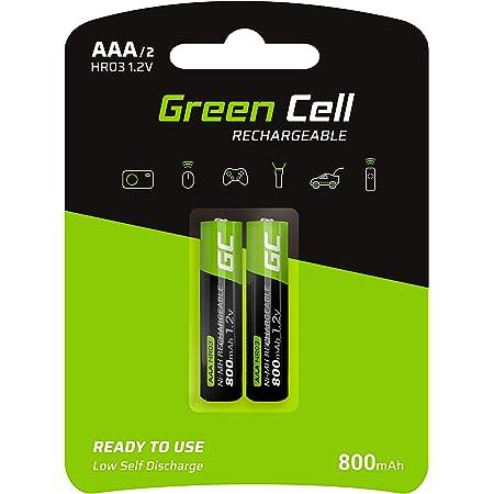 Green Cell 800mah 1 2v 2 Stck Vorgeladene Ni Mh Elektronik