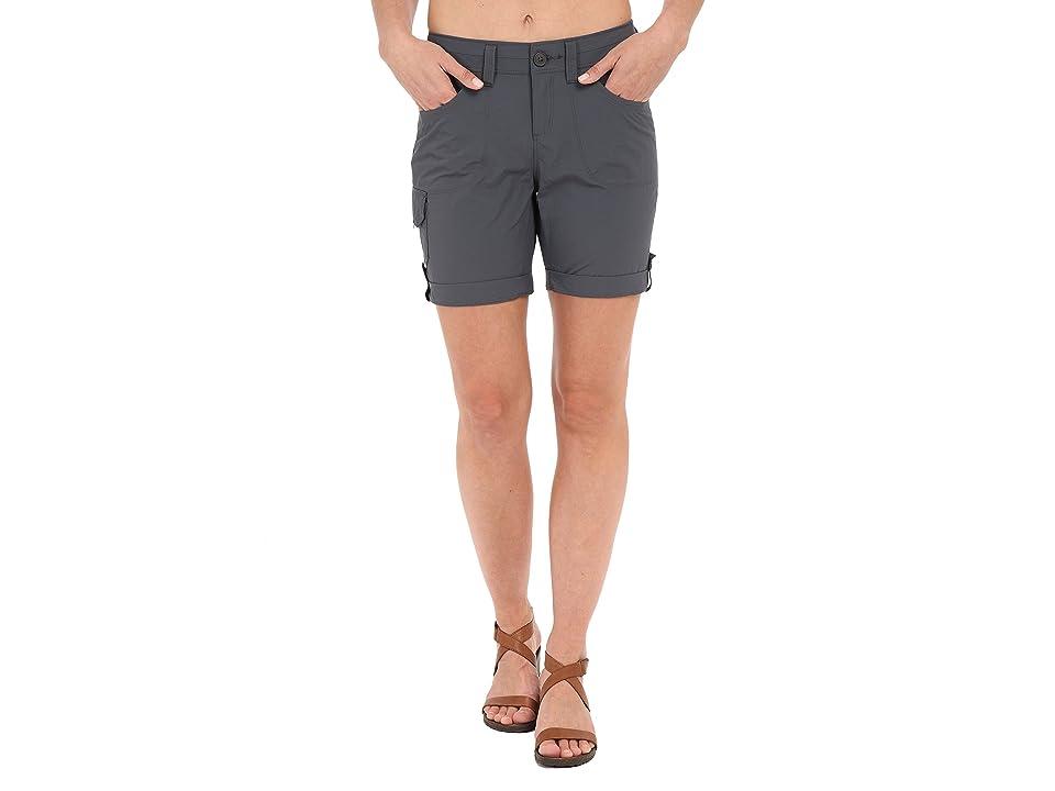 Mountain Hardwear Miradatm Cargo Shorts (Graphite) Women
