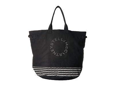 Stella McCartney Bag (Black/Cream) Tote Handbags