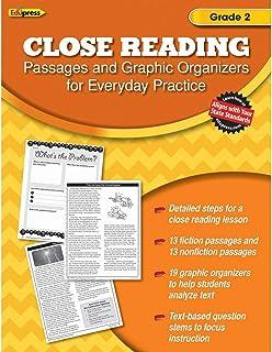Close Reading Practice Book Grade 2: Grade 2