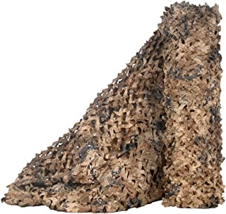Sponsored Ad - LOOGU Camo Netting, Camouflage Net Blinds Great for Sunshade Camping Shooting Hunting etc.