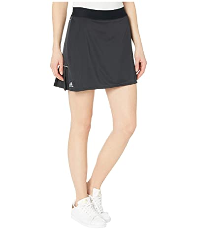 adidas Club Long Skirt (Black/Matte Silver/Black) Women