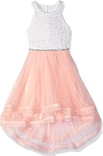 Girls' Party Dramatic High-Low Hemline Dress
