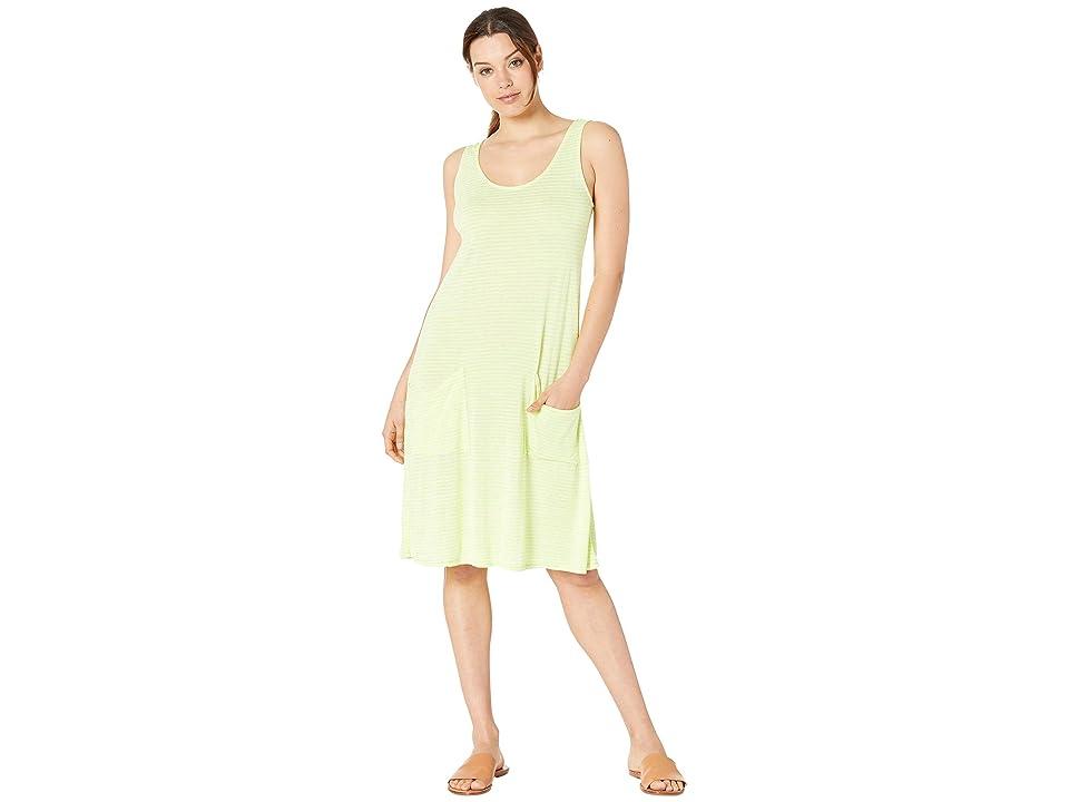 Fresh Produce Luminous Drape Dress (Lemon Drop Yellow) Women