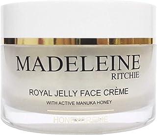 Madeleine Ritchie HoneyCreme New Zealand Royal Jelly Face Cream with active manuka honey 3.4 fl.oz jar. Original, Authenti...