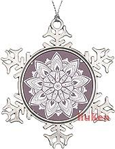 Mandala Ornament Seamless Christmas Ornaments,Christmas Tree Decoration Ornaments,Christmas Keepsake 2020 Xmas Gifts for K...