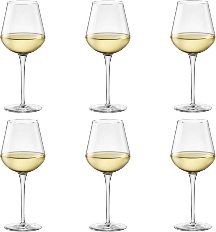 Bormioli Rocco Inalto Uno Small Wine Glass 380ml Pack Of 6 Drinking Glasses